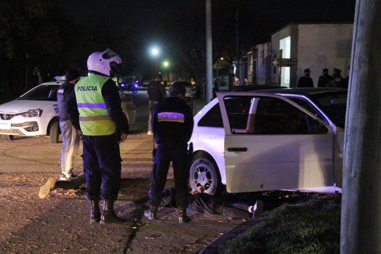 Persecución y secuestro de arma de fuego: Se investiga si previamente los involucrados habían intentado realizar un asalto a mano armada