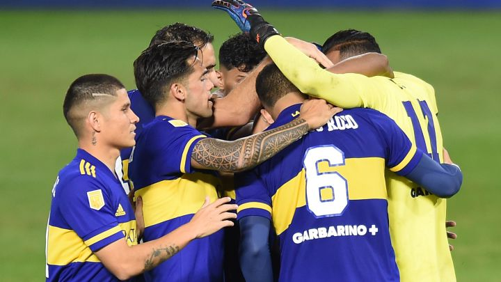 Boca venció a River en los penales y es semifinalista de la Copa Liga Profesional