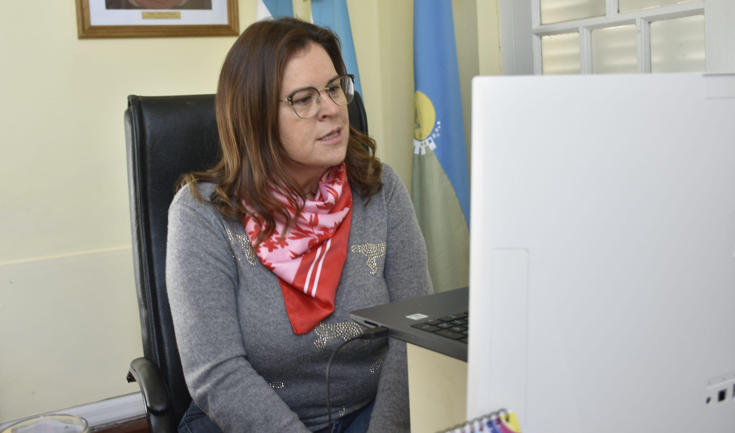 Fernanda Alonso se reunió con el nuevo consejo directivo del Colegio Médico Veterinario