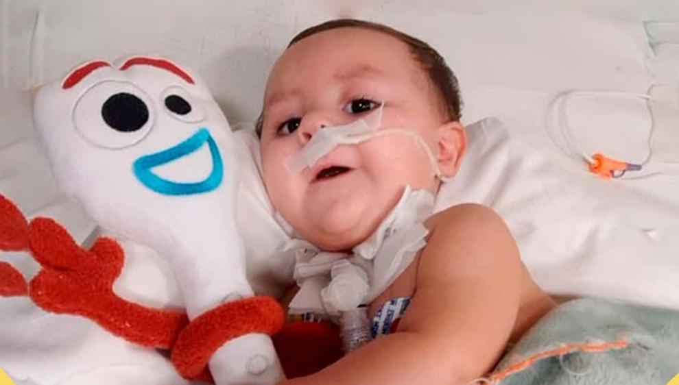 #TodosPorGian: La familia del pequeño de 6 meses que sufre atrofia muscular espinal organiza un locro solidario para este 9 de julio