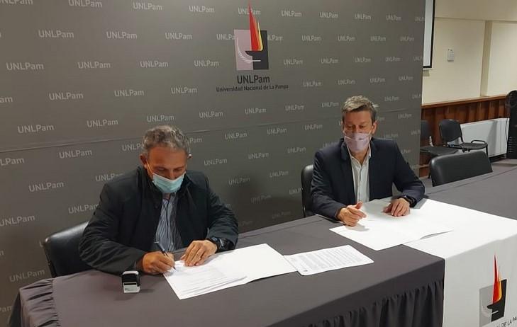 Se firmó un contrato para hacer obras por $ 224,9 millones en el campo universitario de la UNLPam