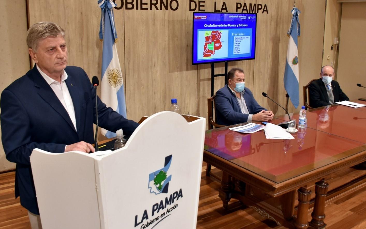 OFICIAL: Restringen la circulación de 21 a 7 horas por quince días y suspenden las clases presenciales en toda La Pampa