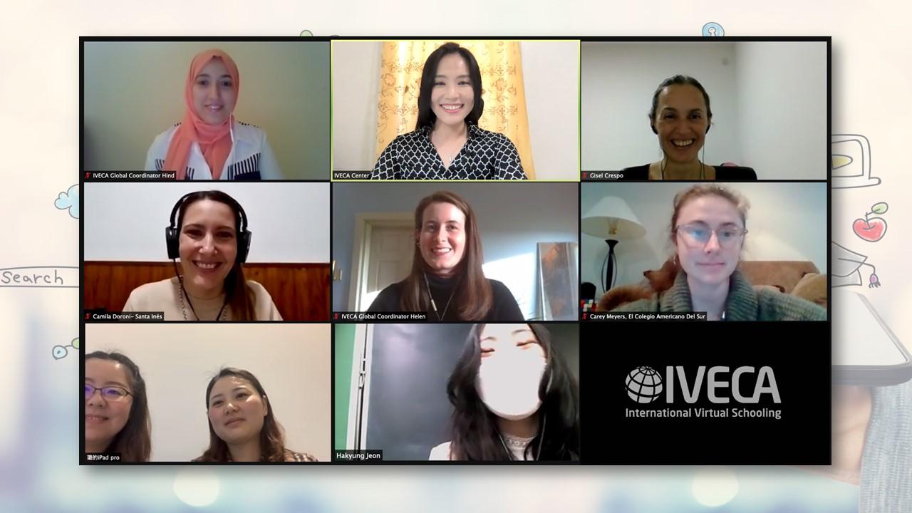 """""""Comunicar sin fronteras"""": Alumnos del Colegio Santa Inés participan de un intercambio virtual de culturas con estudiantes de Corea del Sur"""