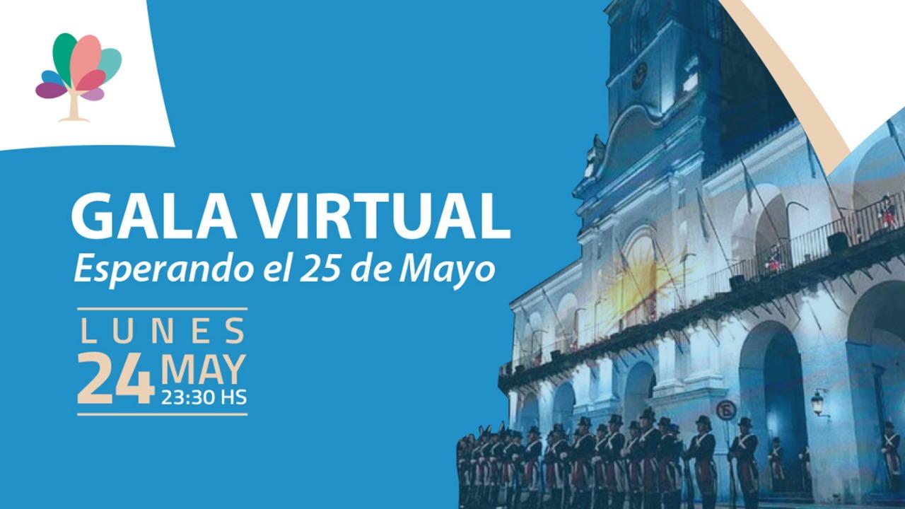 Se transmitirá una velada artística para esperar el 25 de Mayo en General Pico