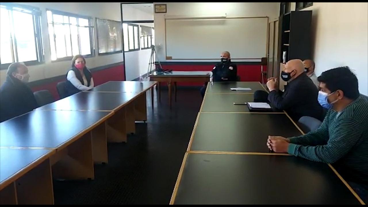Alonso aseguró que se busca dar una respuesta de fondo para sostener económicamente el funcionamiento de Bomberos Voluntarios en General Pico