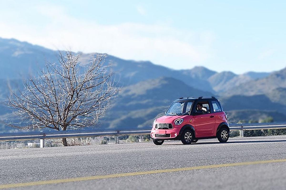 """Salió """"Tito"""": el auto eléctrico fabricado en San Luis"""