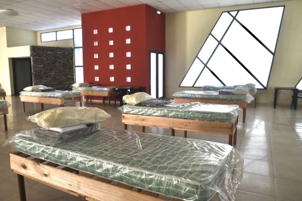 Santa Fe: abren un centro de aislamiento para 170 pacientes leves de coronavirus