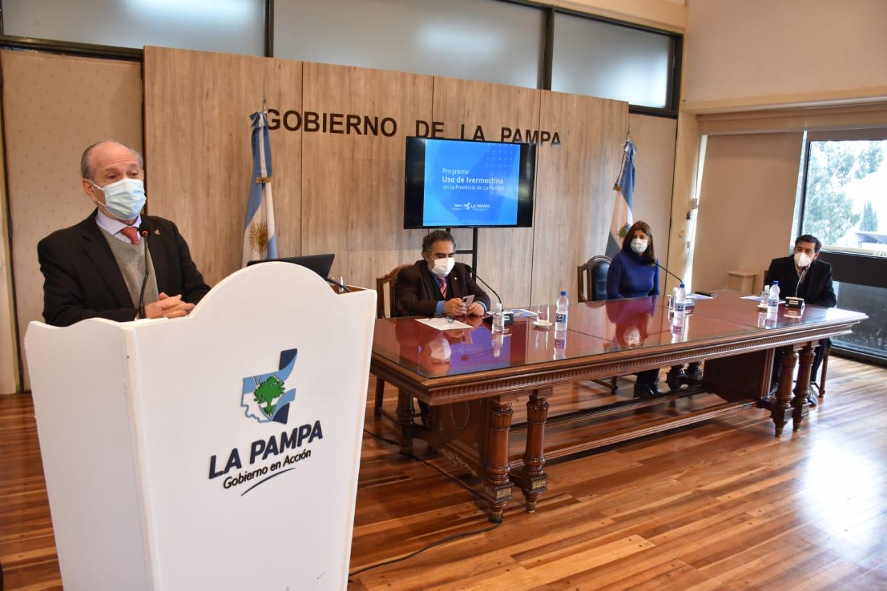 Kohan afirmó que los resultados del uso de la ivermectina en La Pampa son alentadores