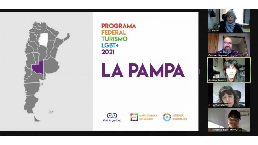 La Pampa se capacitó en el Programa Federal de Turismo LGBT+