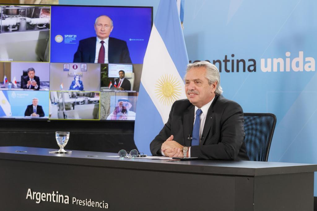 Alberto Fernández y Vladímir Putin anunciaron el inicio de la producción de la vacuna Sputnik V en Argentina