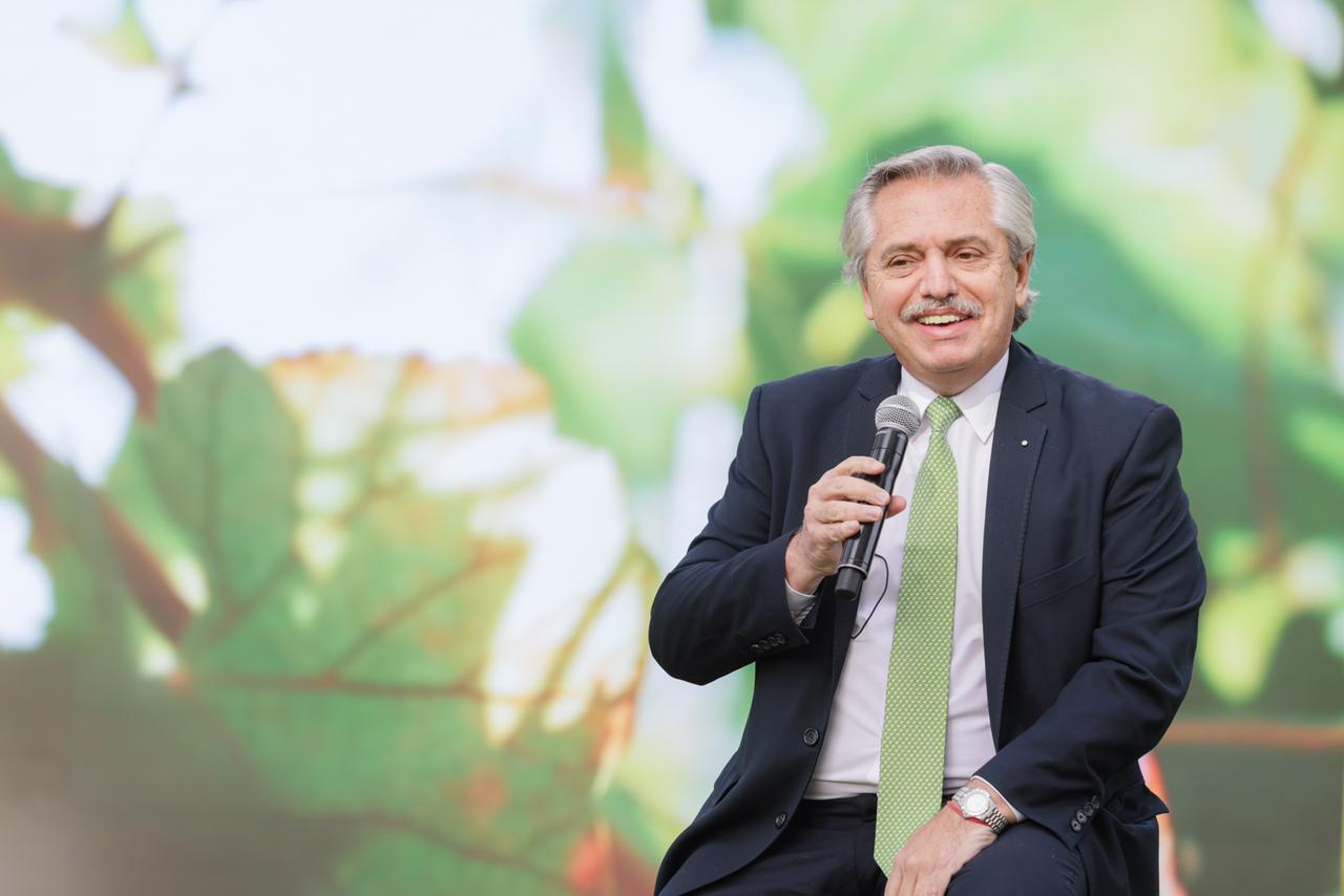 """Alberto Fernández sobre la ley de Educación Ambiental Integral: """"Estamos generando conciencia en las nuevas generaciones"""""""