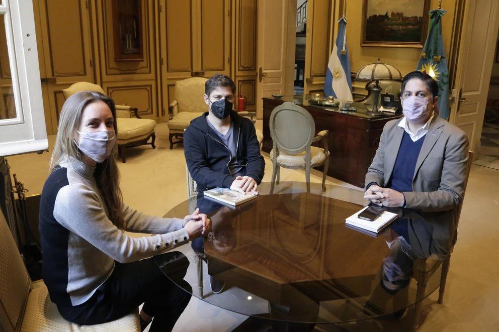 Kicillof y Trotta se reunieron para delinear los detalles del regreso de las clases presenciales en la provincia de Buenos Aires