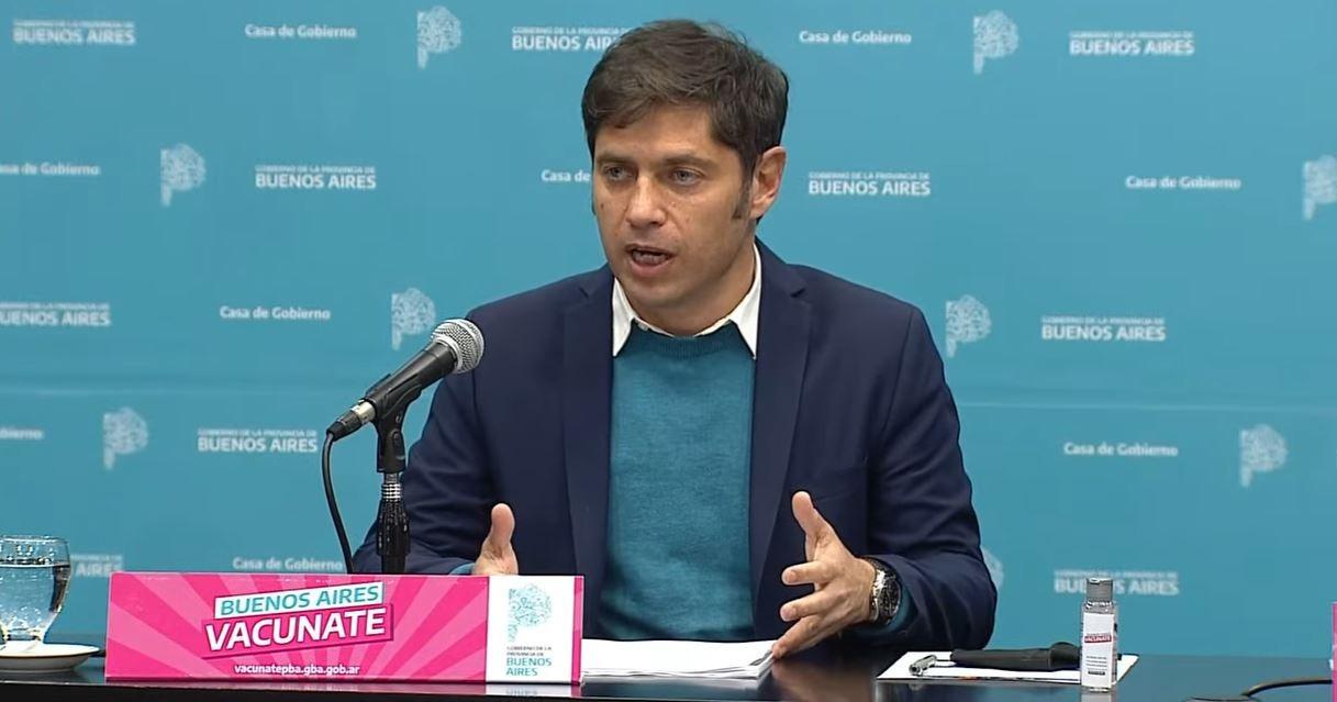 Axel Kicillof anunció que regresan las clases presenciales en provincia de Buenos Aires