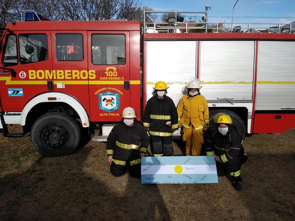 El cuartel de Bomberos de Alta Italia cumple hoy 18 años
