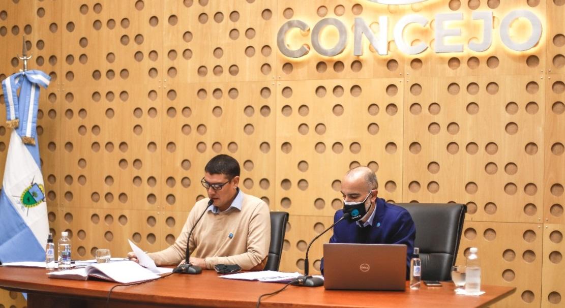 Concejo Deliberante: Se debatieron proyectos vinculados al mejoramiento de desagües pluviales y la eximición de tasas a actividades económicas afectadas por la pandemia