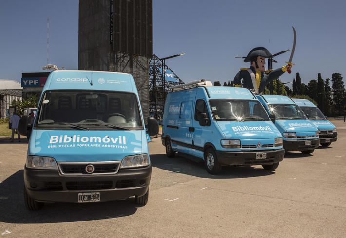 En los próximos días llega un bibliomóvil para La Pampa gracias a un convenio con CONABIP