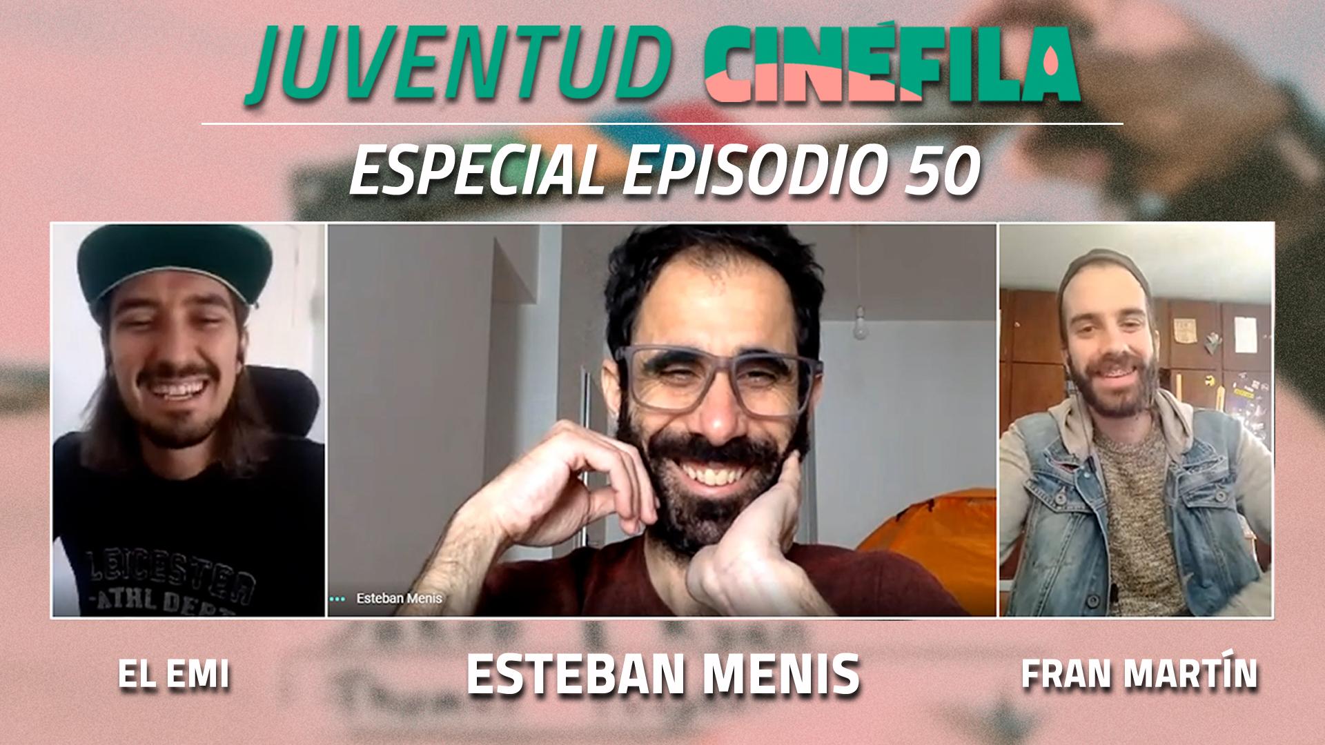 Juventud cinéfila: Emi Guazzaroni y Fran Martín entrevistaron al actor Esteban Menis