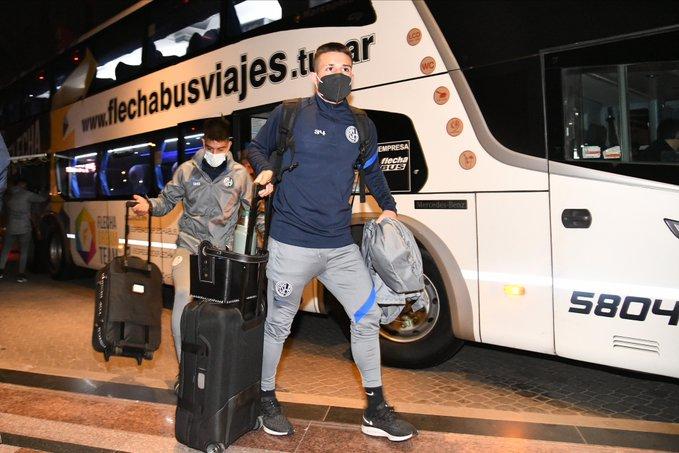 Con Julián Palacios dentro de la nómina, San Lorenzo quedó concentrado en Pilar hasta el 30 de junio