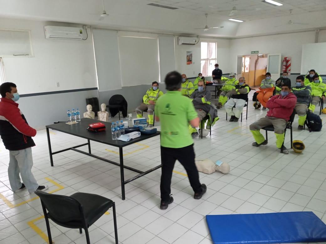 """Continúan las capacitaciones sobre reanimación cardio pulmonar en La Pampa: """"Contamos con instructores distribuidos en casi todas las localidades"""""""