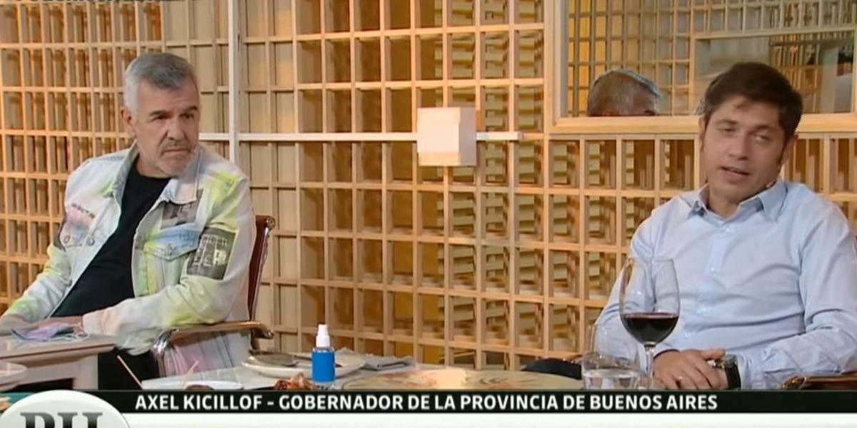 """Dady Brieva auguró que Axel Kicillof será """"el futuro presidente de la República Argentina"""""""