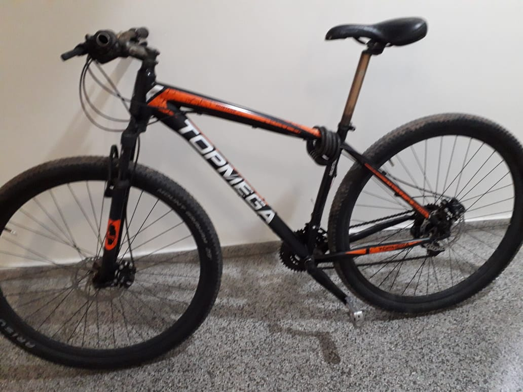 La policía recuperó una costosa bicicleta que había sido robada ayer