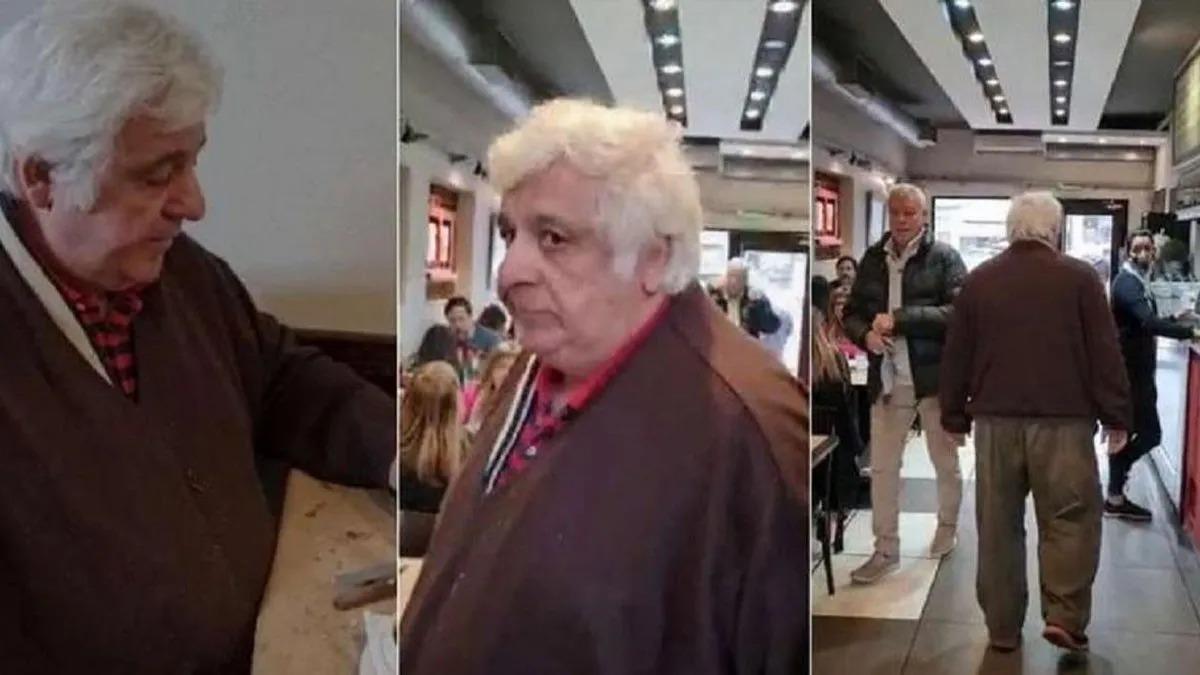 VIDEO: Alberto Samid violó la prisión domiciliaria, fue a un restaurante y lo echaron los clientes