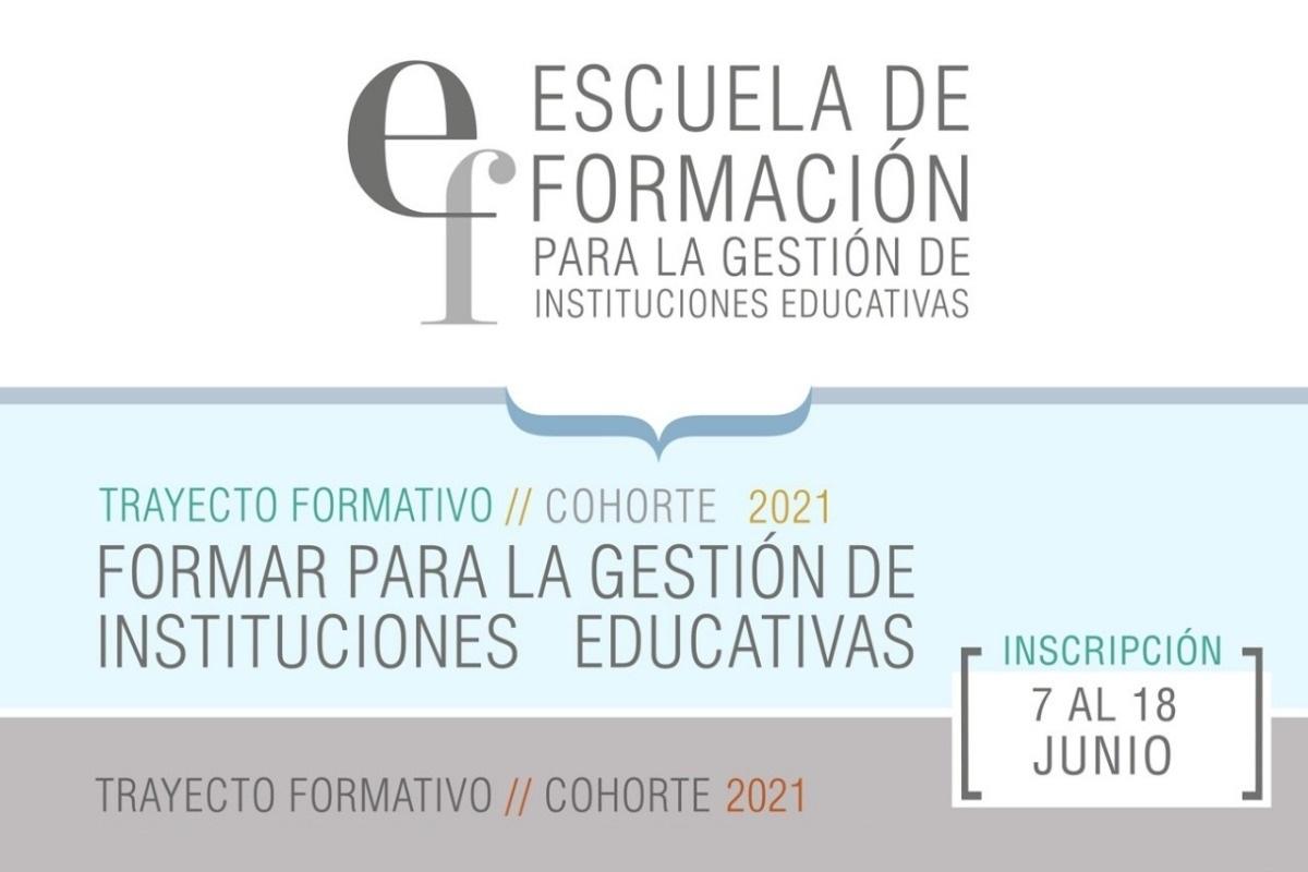 Continúa abierta la inscripción a trayectos formativos para docentes y directivos