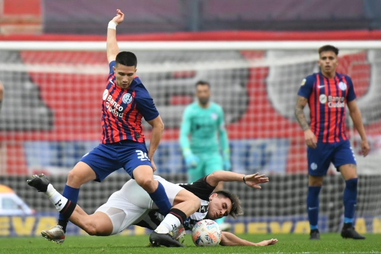 Liga Profesional: El piquense Julián Palacios fue titular en la victoria de San Lorenzo frente a Central Córdoba