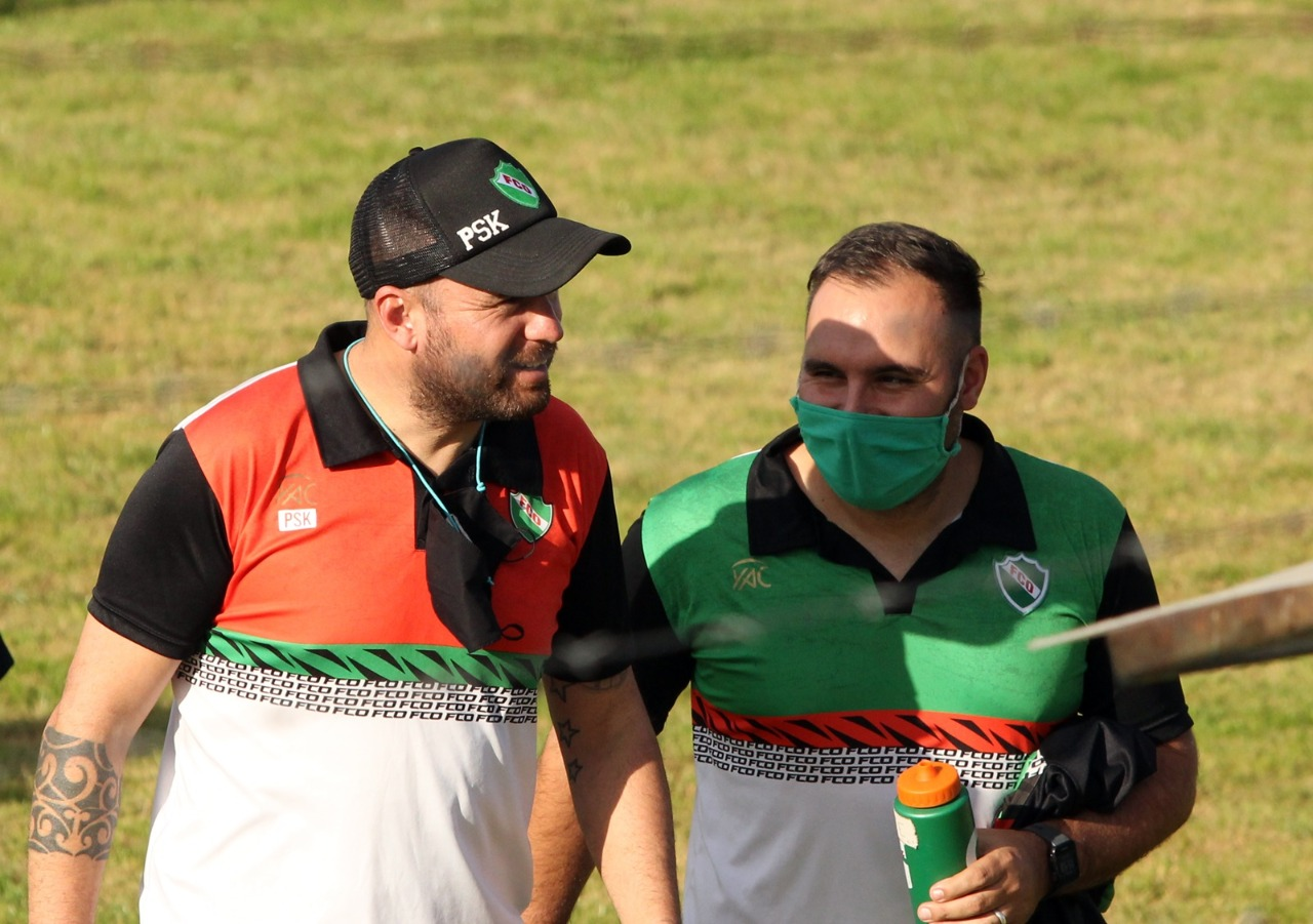 """El entrenador Pablo Semeniuk se refirió a la victoria de Ferro: """"Dimos una muestra de carácter, cuando el partido no fue favorable lo pudimos aguantar y nos hicimos fuertes defensivamente"""""""
