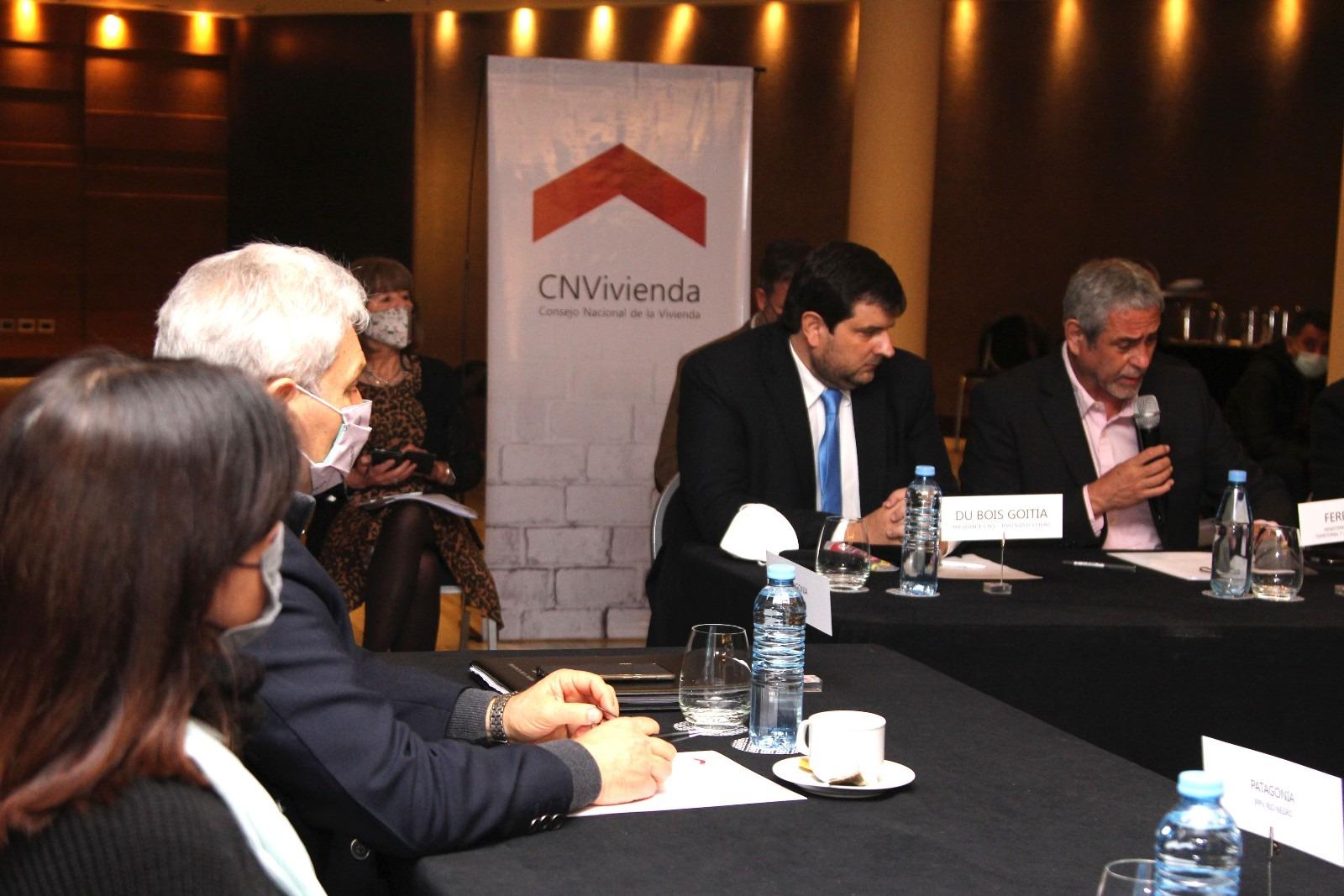 El presidente del IPAV, Jorge Lezcano participó de la asamblea del Consejo Nacional de la Vivienda