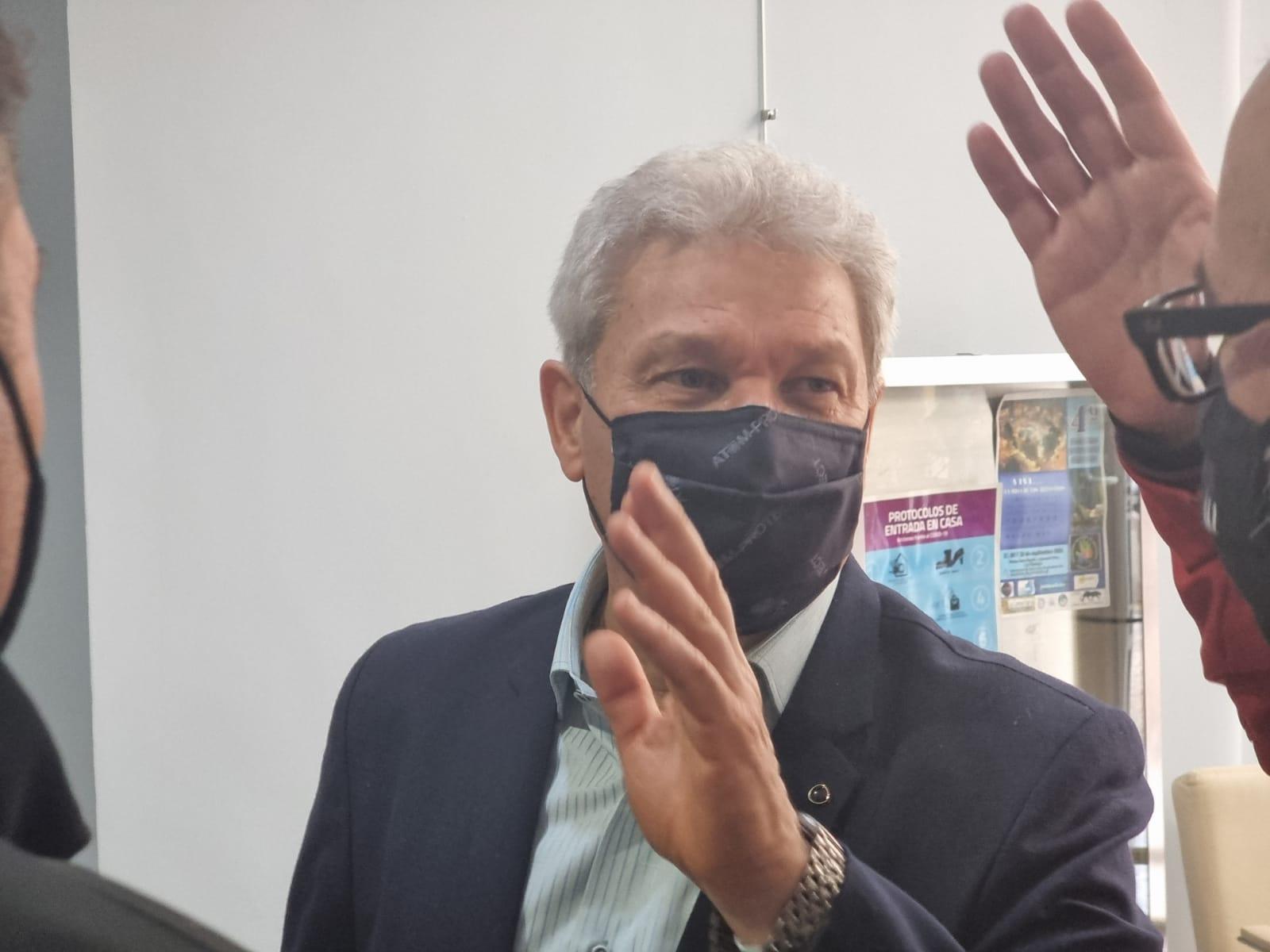 """Jorge Lezcano sobre la firma del convenio junto al Colegio de Arquitectos: """"Este es un acuerdo muy importante y necesario"""""""
