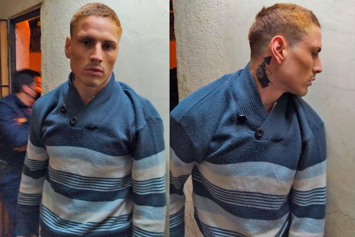 Recapturaron al prófugo Gastón Quintero que se había fugado de la comisaría de Realicó
