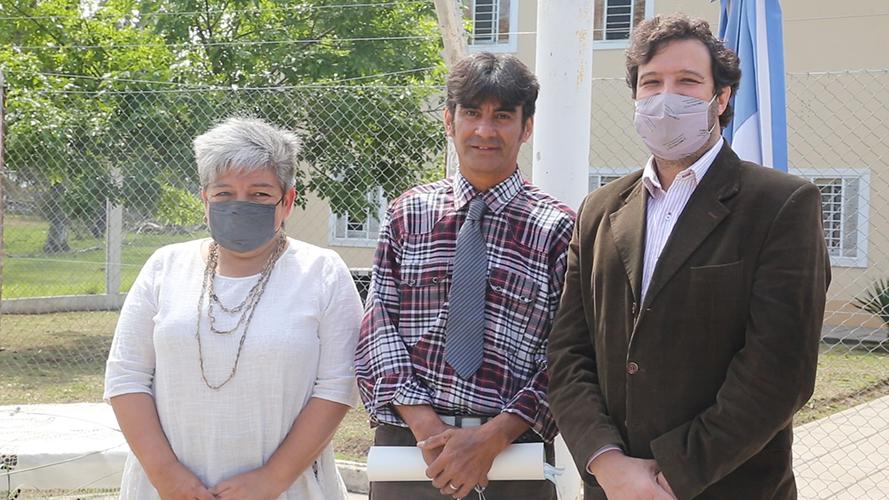 La Universidad de La Pampa entregó el primer título a un egresado que está privado de su libertad