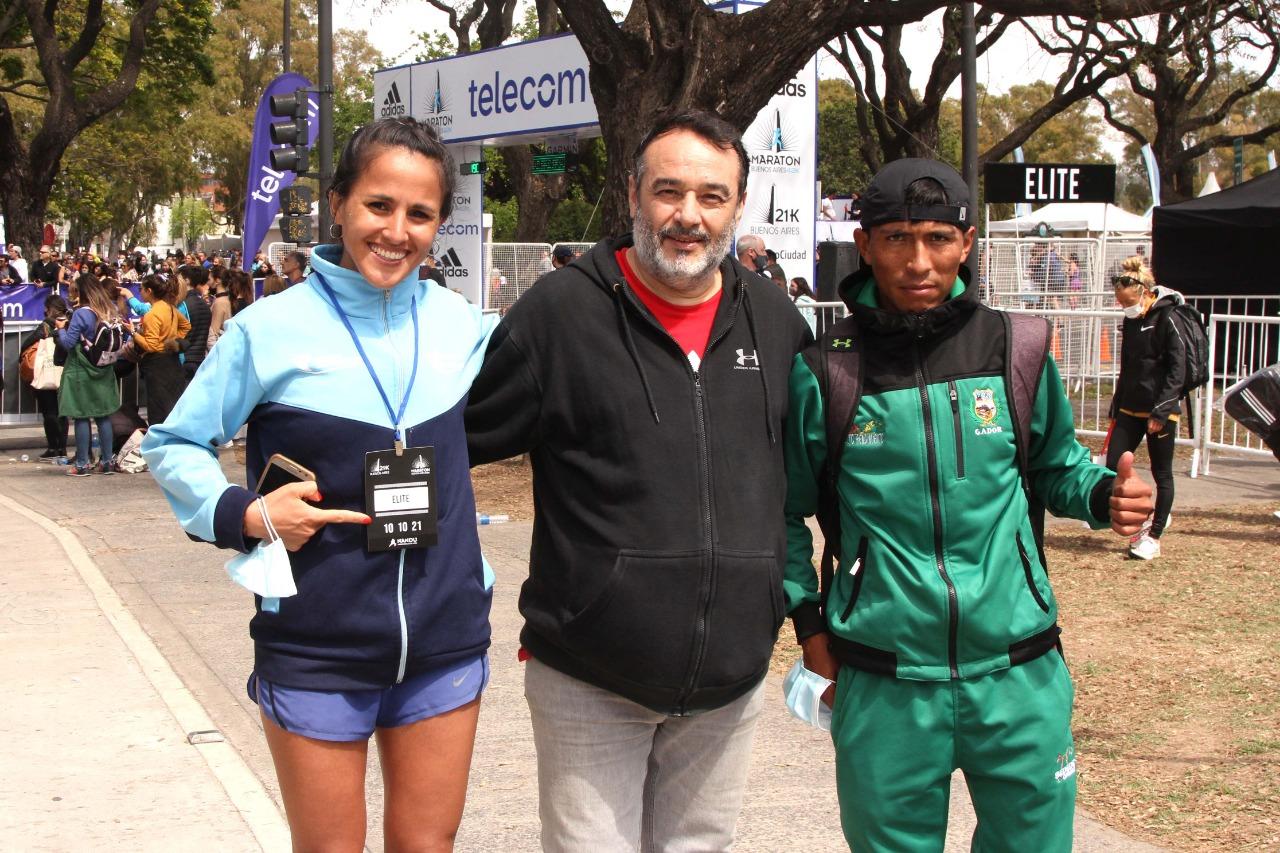 Atleta pampeana mejoró su marca en la Maratón de Buenos Aires